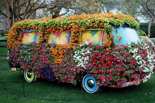 ônibus topiary