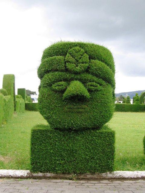 escultura topiary