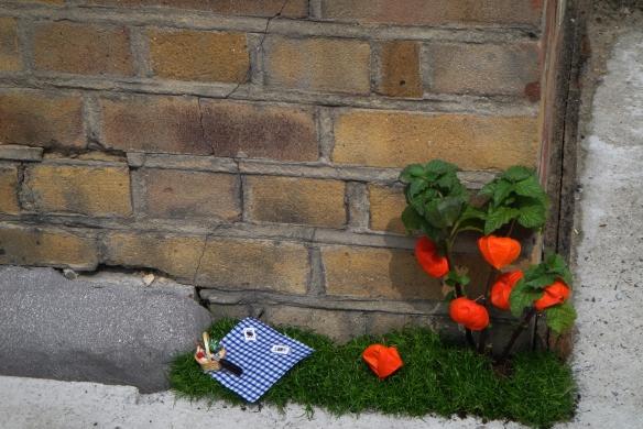 Jardim Picnic em miniatura