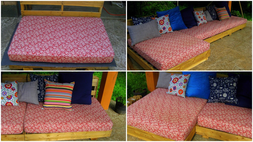 L'Oven Life Ottawa upcycled pallet patio furniture