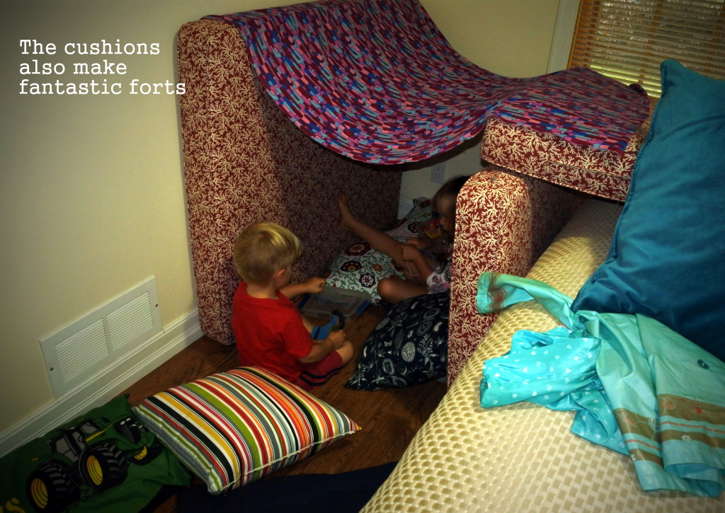 cushion fort L'Oven Life Ottawa upcycled pallet furniture