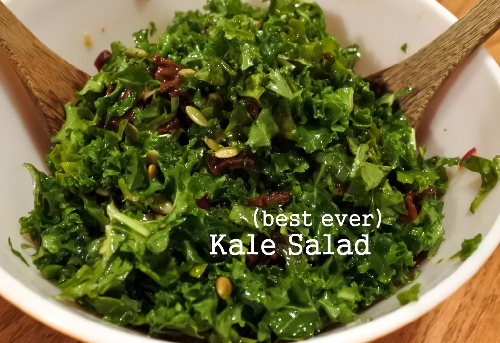 best ever kale salad