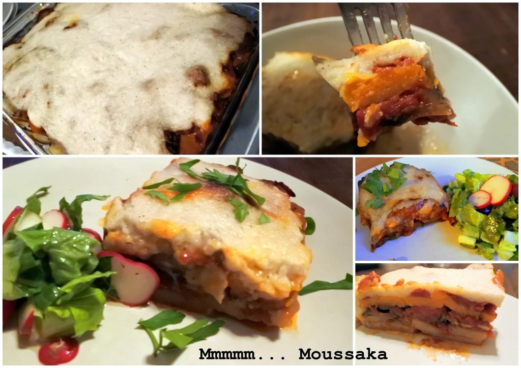 Vegan Moussaka layered vegetarian entree L'Oven Life Ottawa Canada