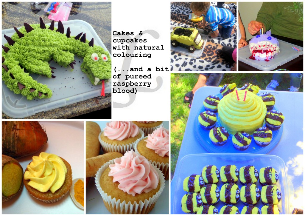 Natural food colouring healthy baking kids L'Oven Life Ottawa cakes cupcakes