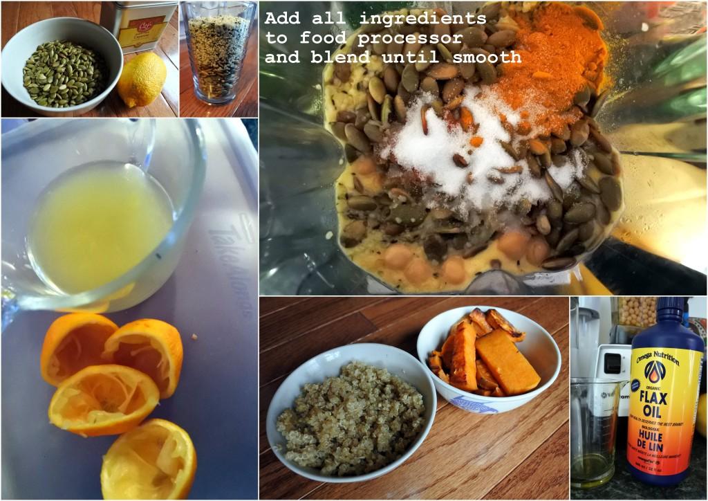 L'Oven Life Hummus Omega 3 hemp seeds healthy living homemade