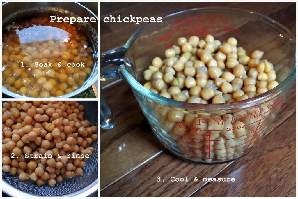 Soaking chickpeas hummus omega 3 L'Oven Life Ottawa
