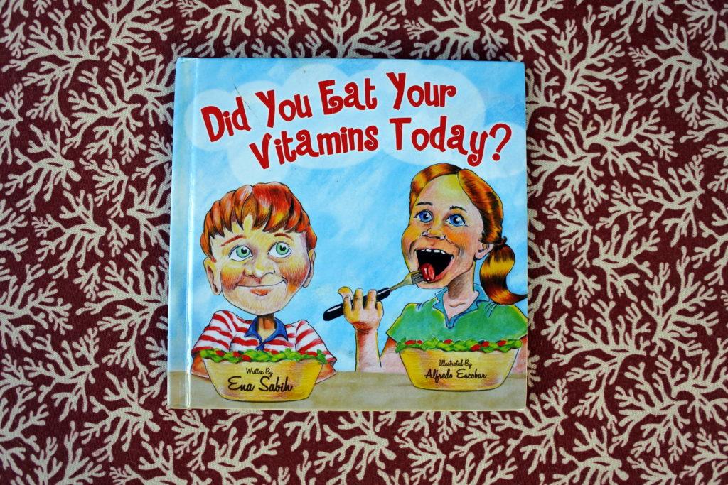kids books health eating Ena Sabih ottawa author Vitamins learning teaching