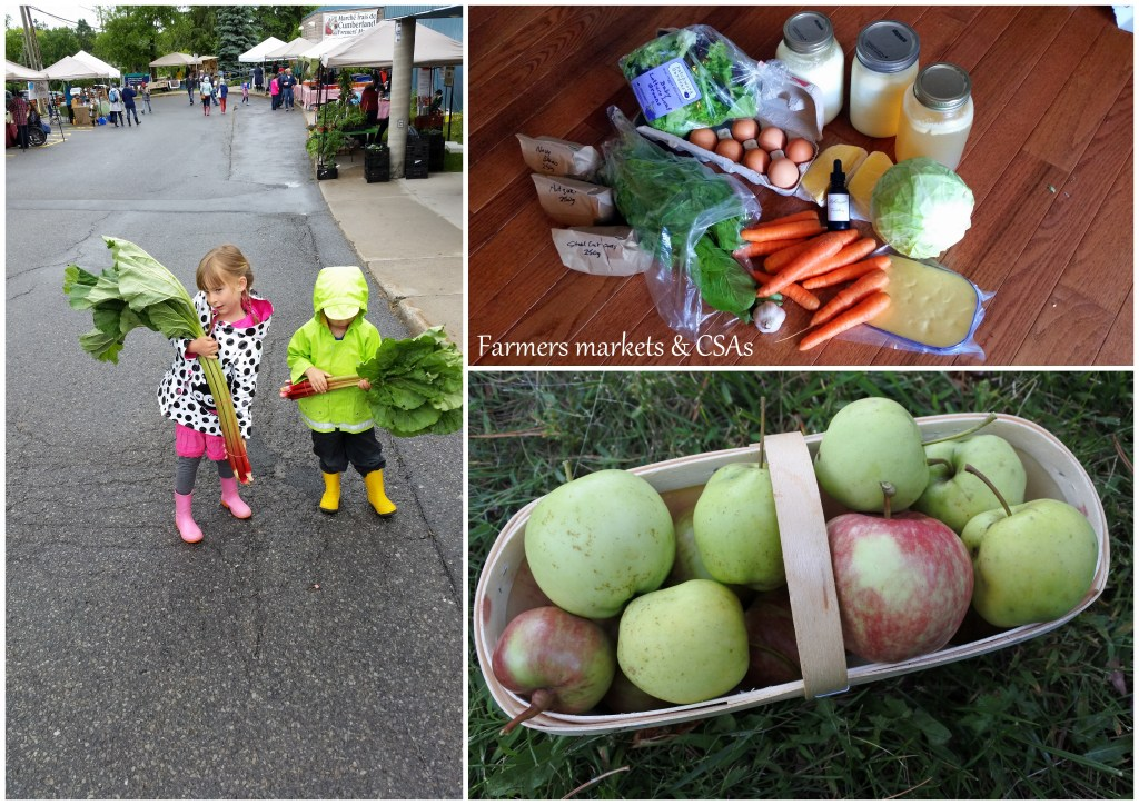 Ottawa CSA Farmer Market local food sustainable agriculture zero waste healthy eating lifestyle