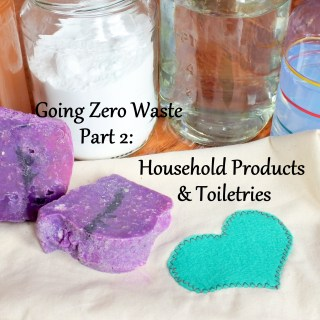 Going Zero Waste: Part 2 (Toiletries and Household Products)