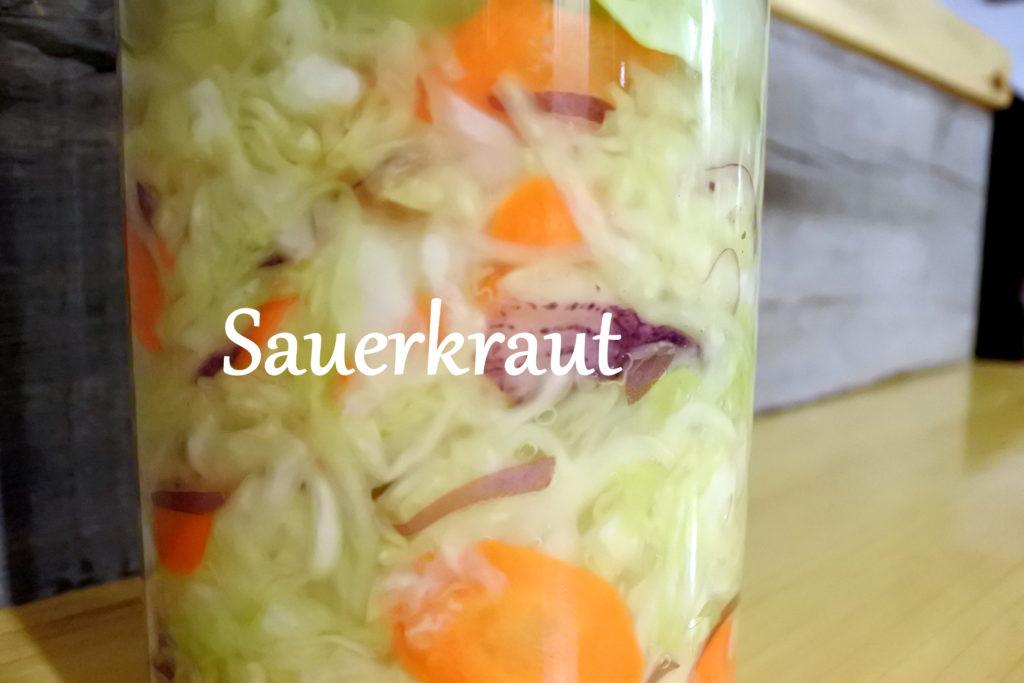 sauerkraut probiotics gut health fermented food loven life jackie lane ottawa recipe zero waste