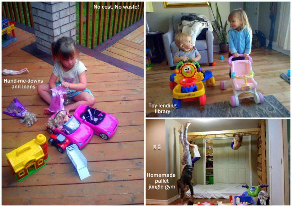 zero waste ottawa canada mom blog toy lending library less stuff kids babies parent junk waste