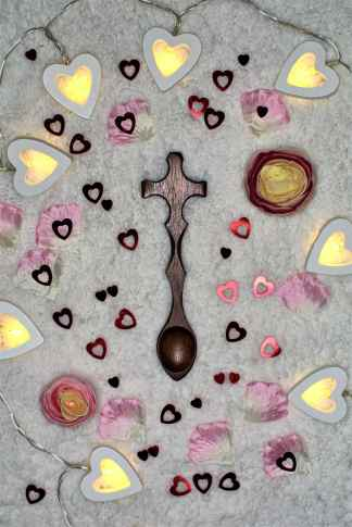 Simply Cross Your Heart Lovespoon