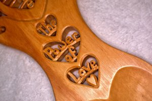 The Imagine the Power of Love lovespoon.