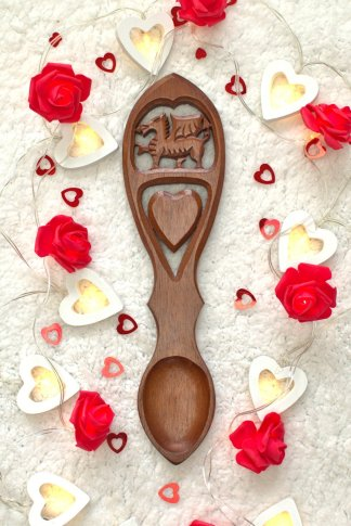 Dragonheart lovespoon
