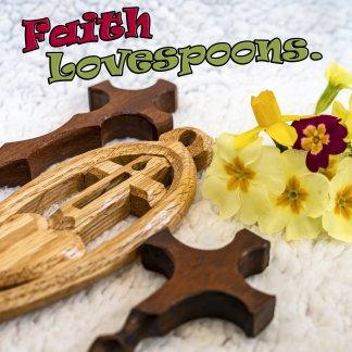 Symbols of Faith Lovespoons