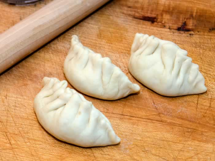 Pork & Prawn Potstickers (aka Asian Dumplings) Ready to Pan-Fry