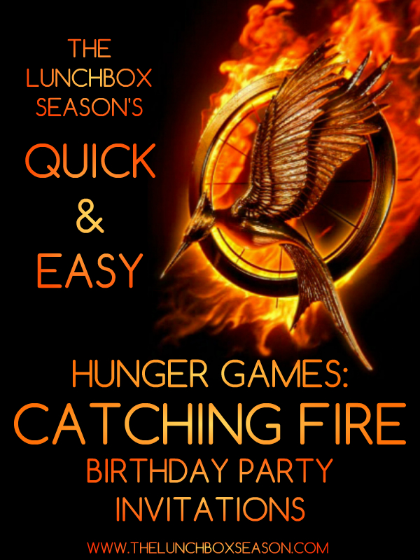 Quick Amp Easy Hunger Games Catching Fire Birthday Party
