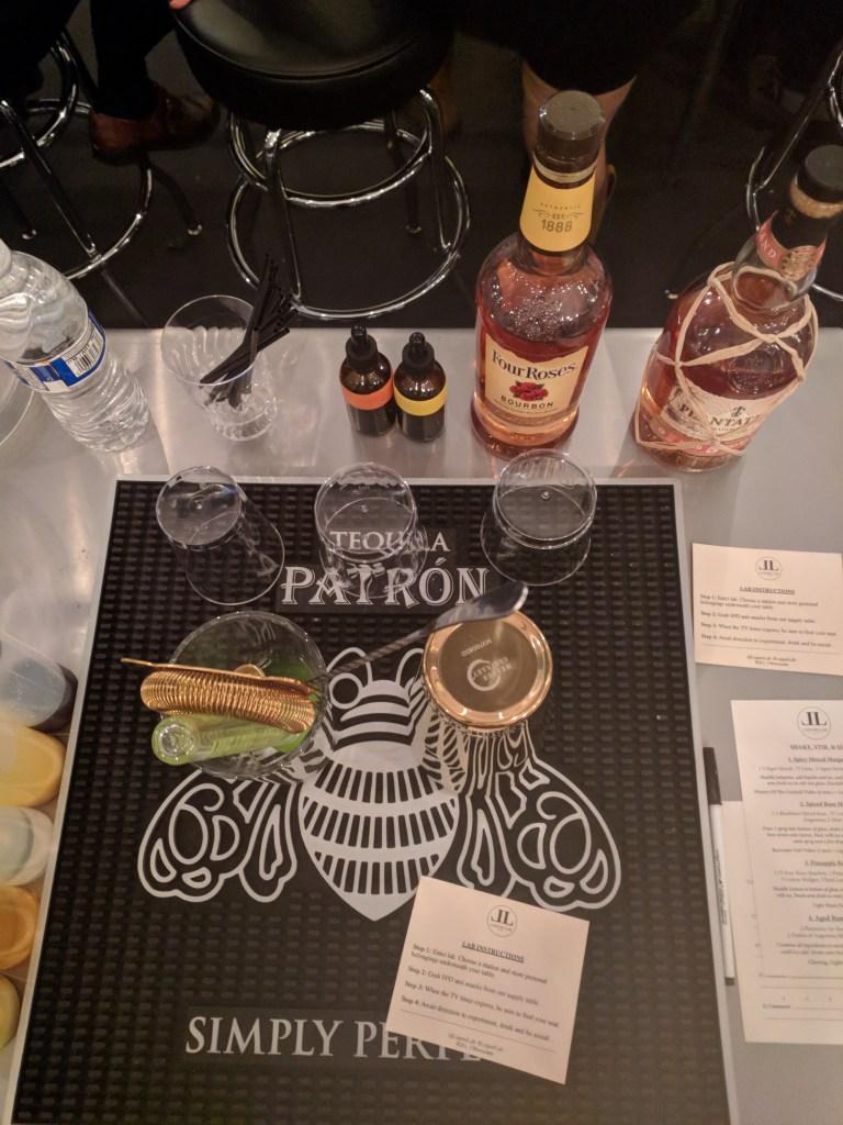Liquor Lab setup 1