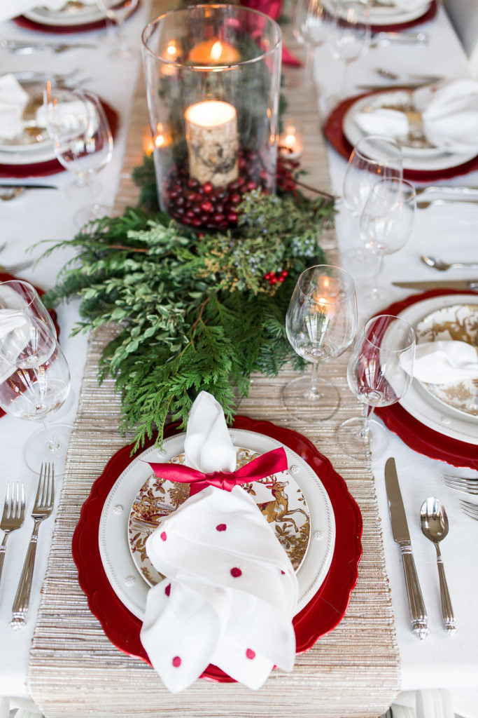 Elegant Christmas Tablescape  Setting the Perfect