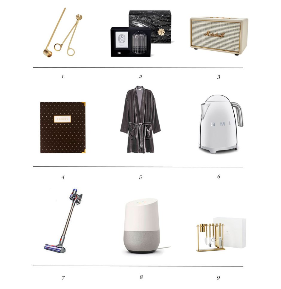 Holiday 2018 Gift Guide: For The Homemaker