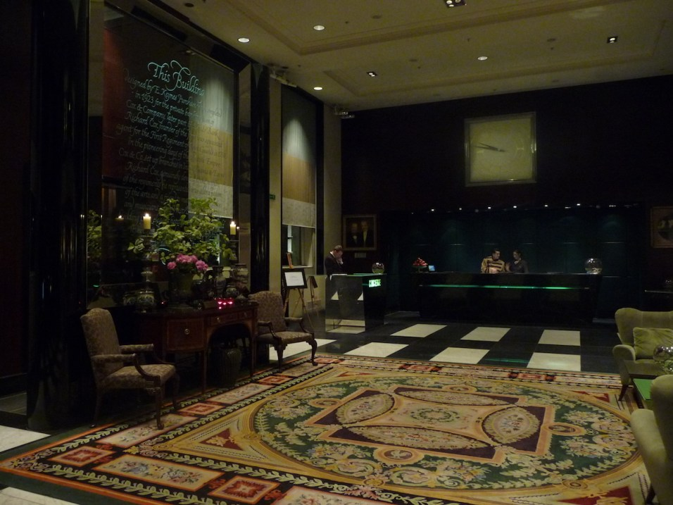 Sofitel St James - Reception