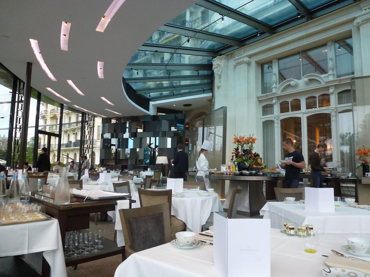 Beau-Rivage Palace - Breakfast