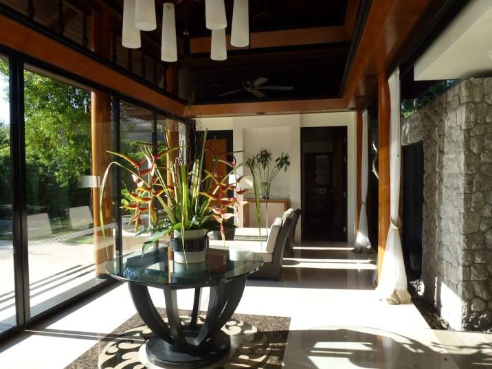 Banyan Tree Phuket - DoublePool Villa lobby