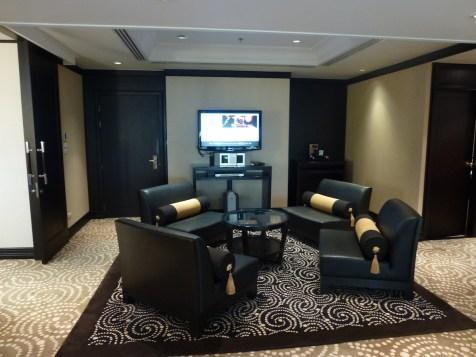 Banyan Tree Bangkok - Presidential Suite lounge