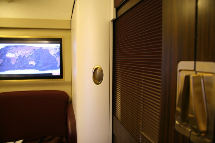 Thai Airways Royal First Class mini suite