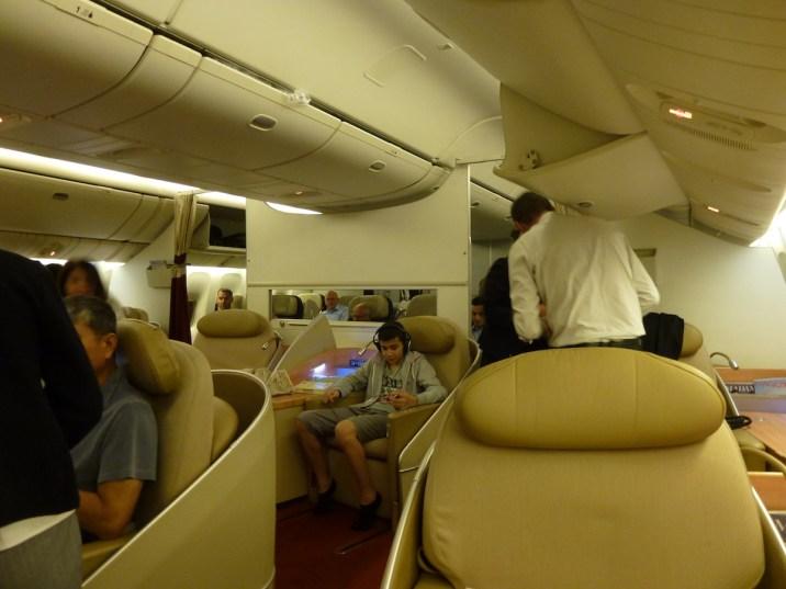 Air France La Premiere - Cabin