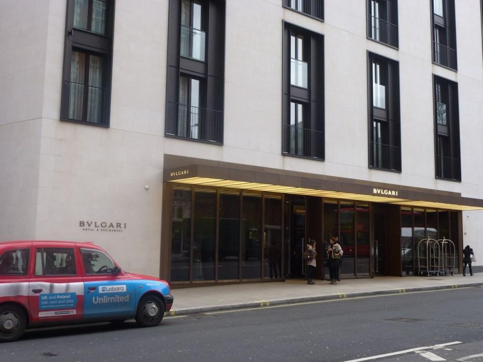 Bulgari London - Entrance