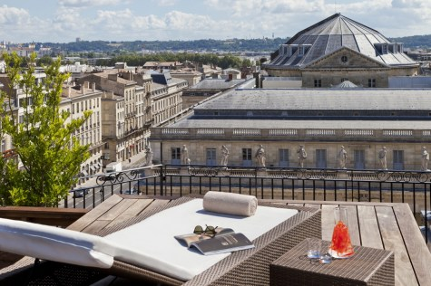 Grand Hotel Bordeaux - View from Terrace