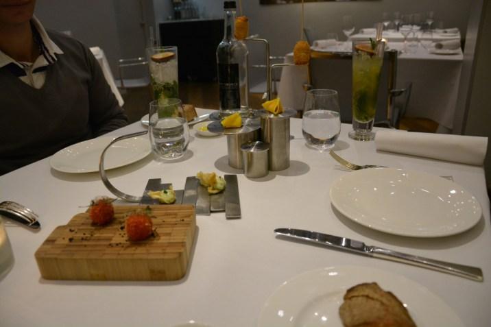 The Halkin Ametsa Tasting Menu - Appetizers