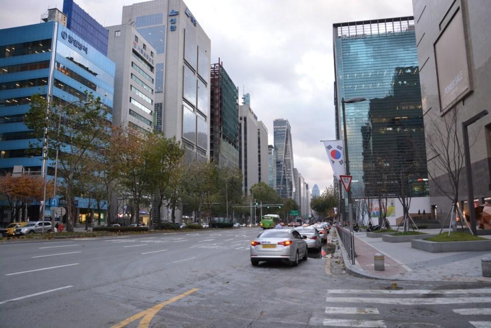 Seoul - Yeongdong-daero road