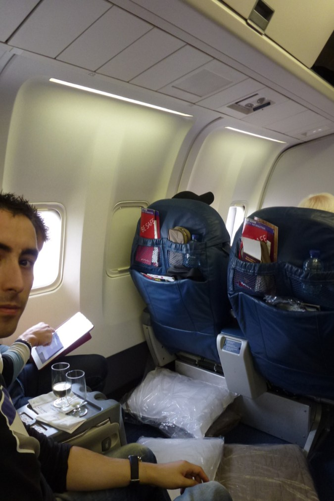 Delta Airlines Business Class - Say Hello