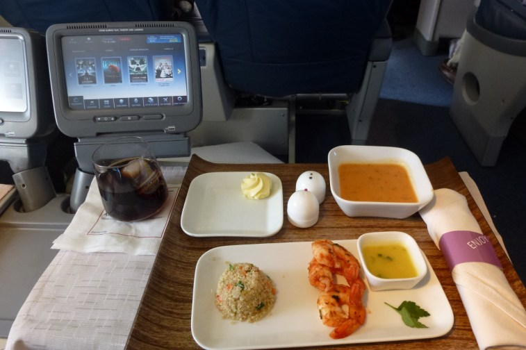 Delta Airlines Business Class - Starters