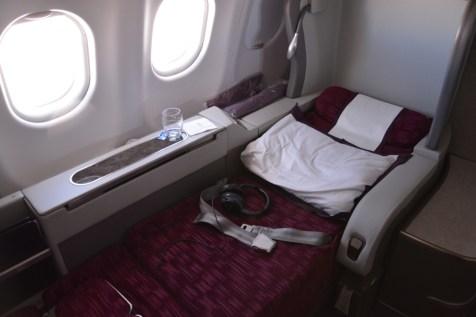 Qatar Airways First Class - Bed 2