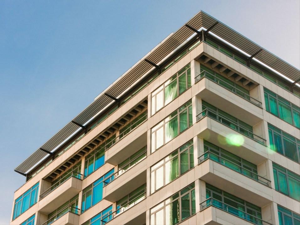 Metropolitan London facade
