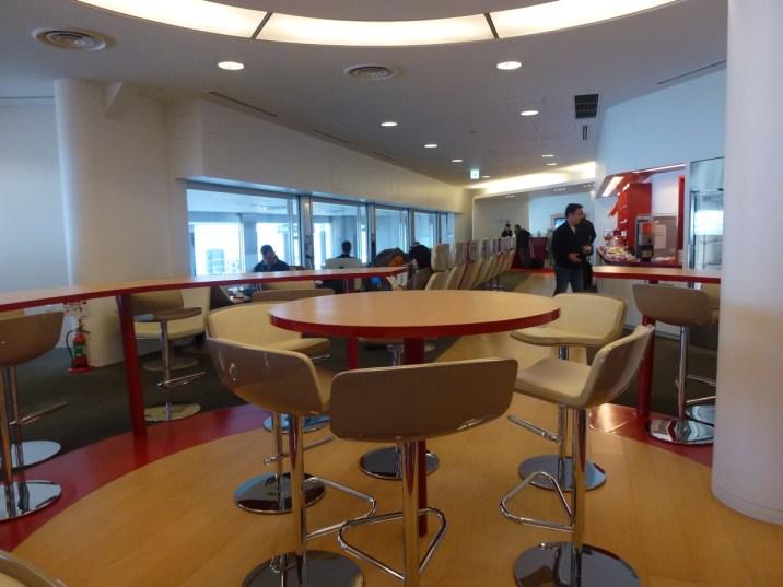 Air France Tokyo Lounge - Business Class part