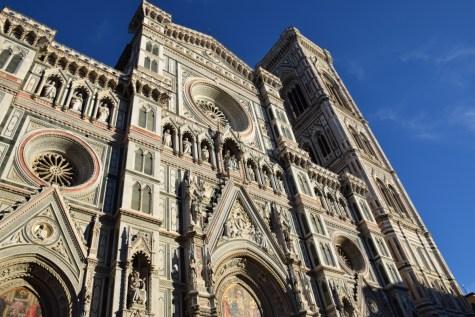 Florence - Duomo marble facade