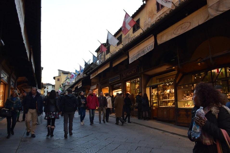 Florence - Inside Ponte Vecchio