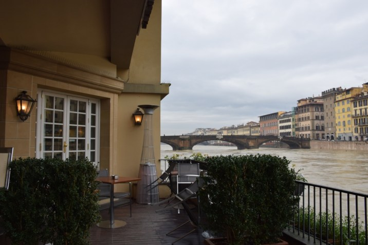 Florence - Arno from Lungarno Hotel