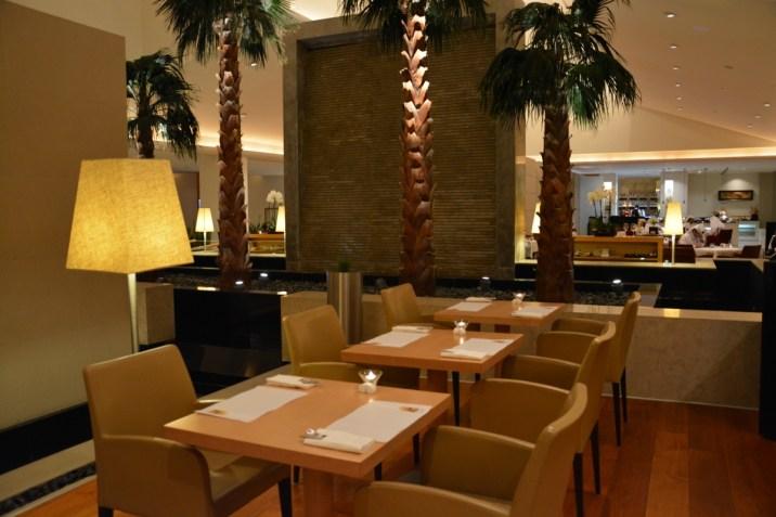 Qatar Airways Premium Terminal - First Class lounge restaurant
