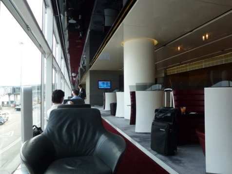 Cathay Pacific The Cabin lounge - Lovely seat
