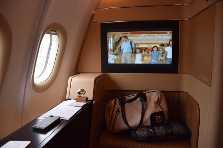 Etihad Airways Diamond First Class suite
