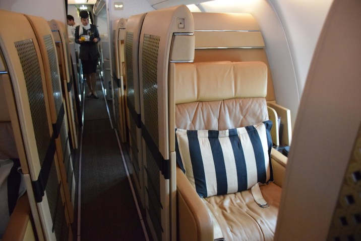 Etihad Airways Diamond First Class seat