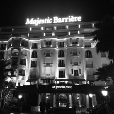 Majestic Barriere facade
