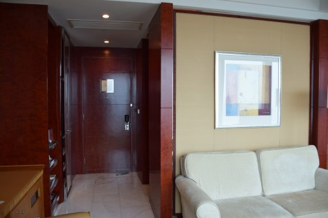 Pudong Shangri-La - Grand Tower Room - Entrance