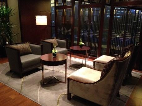 Mandarin Oriental Shanghai - The Club lounge2