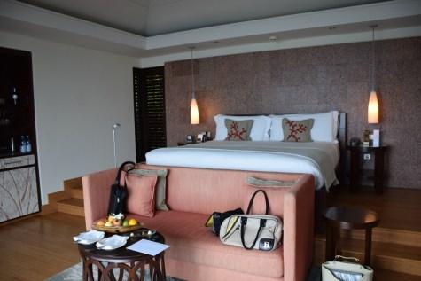 Raffles Praslin - Panoramic Villa bedroom